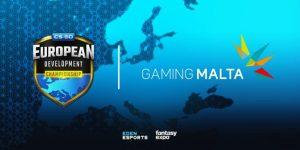 Gaming Malta yhteistyöhön European Development Championshipin kanssa