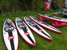 Junior Red Paddle Fleet. Image from Georgia Wharton