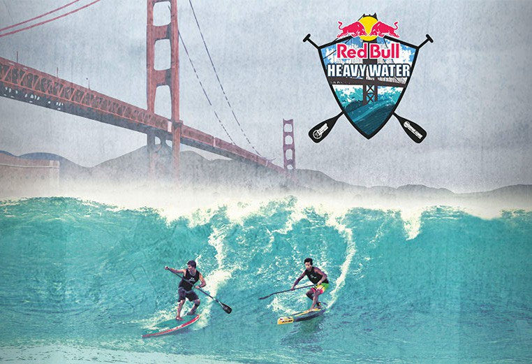 The Most Extreme SUP Race Arrives In 'The City' Red Bull Heavy Water