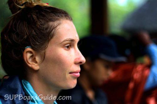 Sarah at a Temple