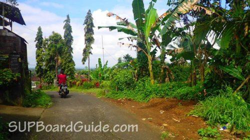 Bali beautiful scooter ride