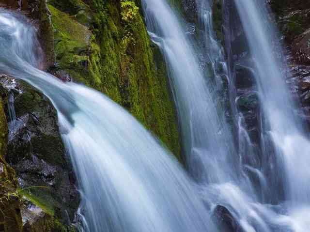 The Falls are a huge attraction in Olympic National Park. It has been a playground for amateur and professional photographers. In here you can see the magic of long exposure snapshots to full effect.