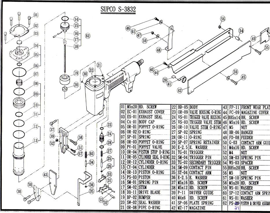SUPCO TOOL S-3832