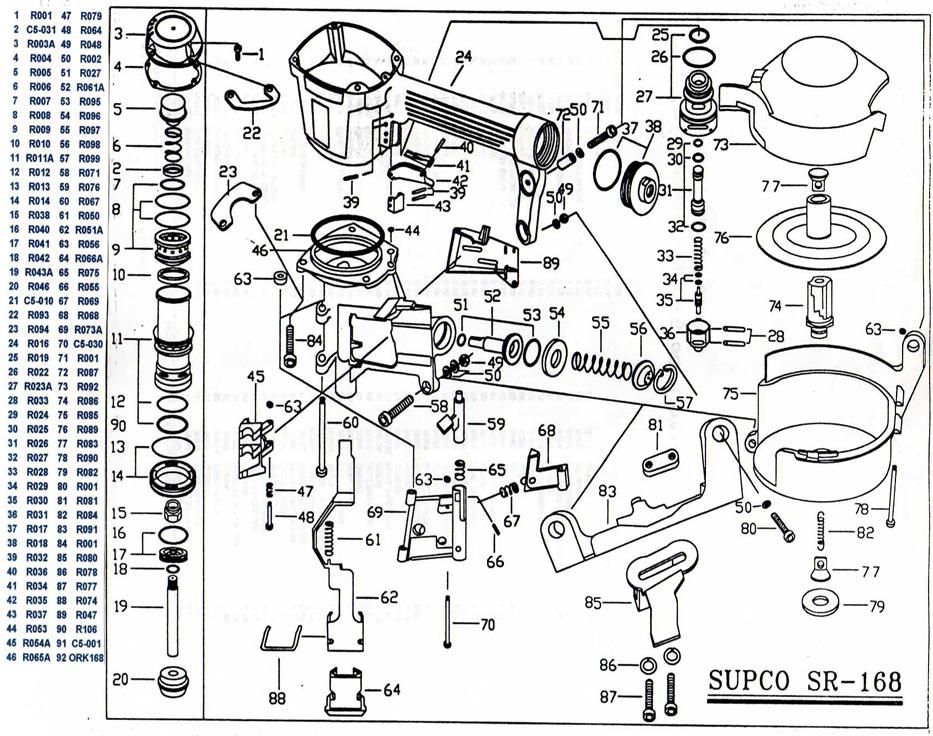 SUPCO TOOL SR-168