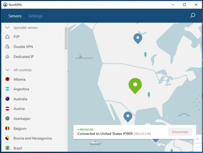 NordVPN 6.22.6.0 Crack With Serial Key (Premium 2019)