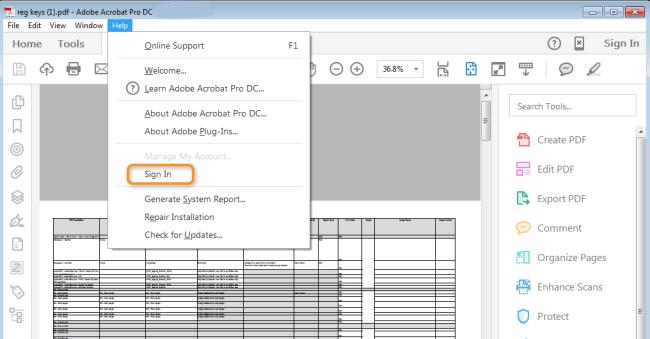 Adobe Acrobat Pro DC Crack | License Key Download Free 2019