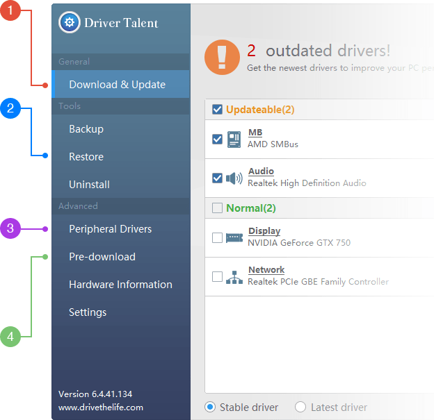 Driver Talent  Pro 2020 Activation Key With Crack Free Download