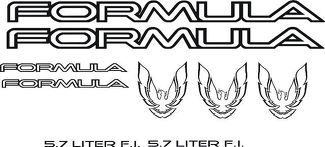 Product: 30th Anniversary Body Stripes decals fit Firebird