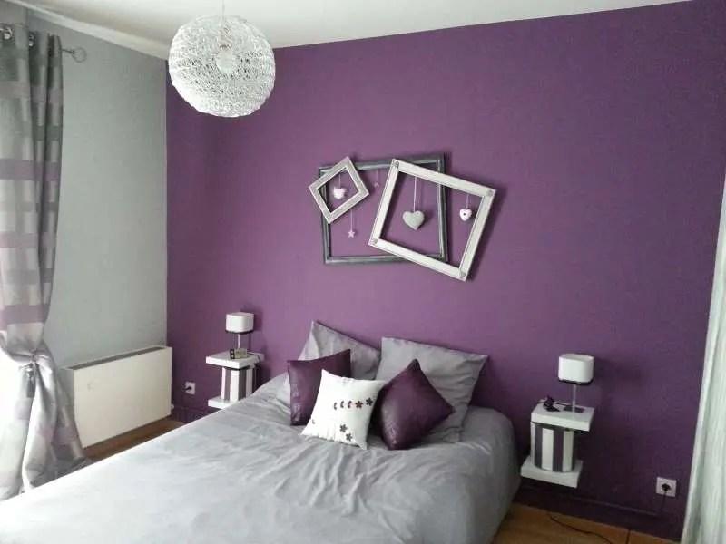 Dcoration de chambre avec couleur Prune  Super Dco