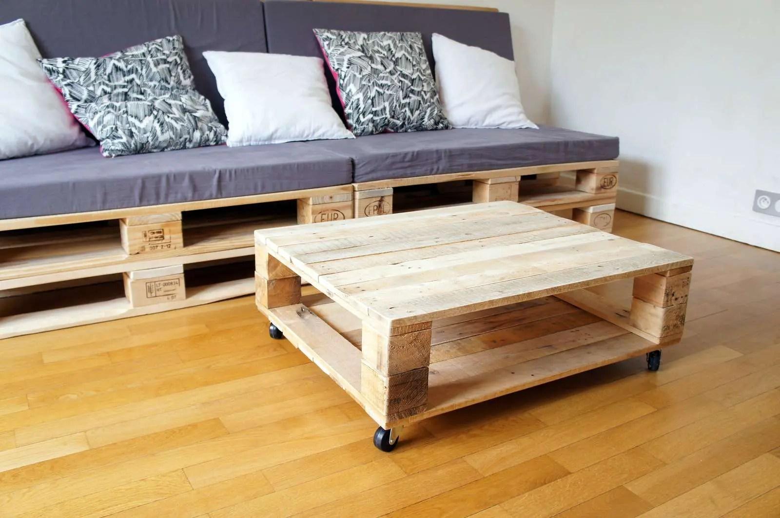 Table Basse Palette Deco Design 23 Super Dco