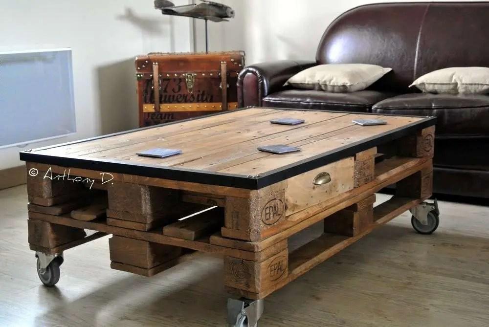 fabriquer une table haute de cuisine