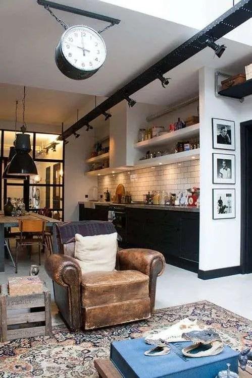 19 cuisines de loft trop belles pour tre vraies  Super Dco