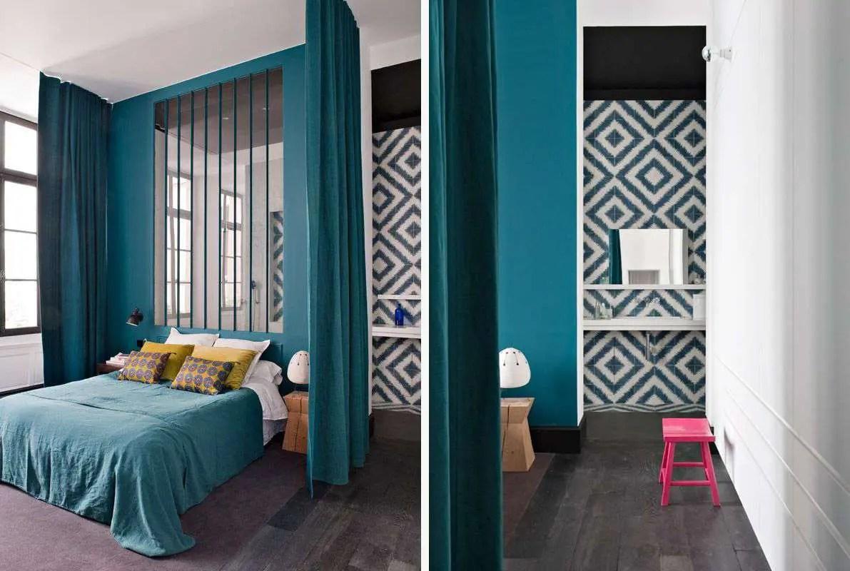 Salon Bleu Turquoise Chocolat - Décoration de maison idées de design ...