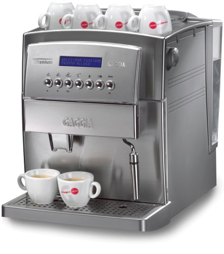 Gaggia Titanium Super Automatic Espresso Machine