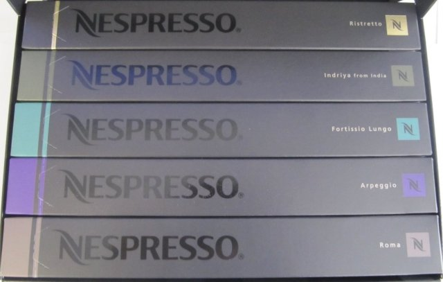 50 Nespresso Capsules the Intense Family Pack