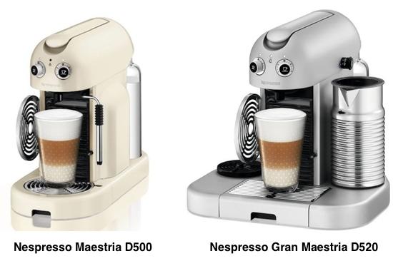 Nespresso Gran Maestria Compare