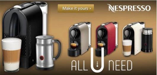 Choose Nespresso U