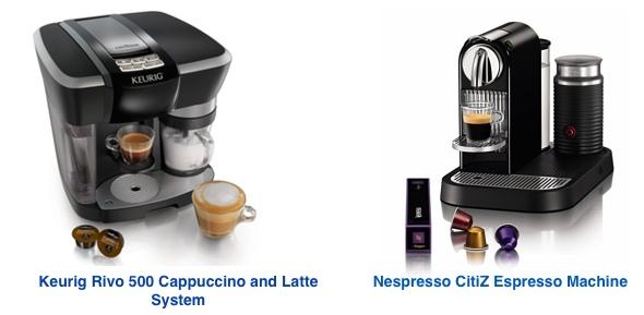 Nespresso vs Keurig Rivo