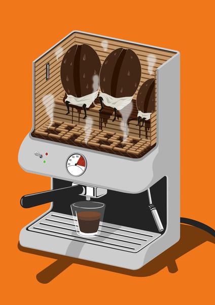 Espresso Machine Art