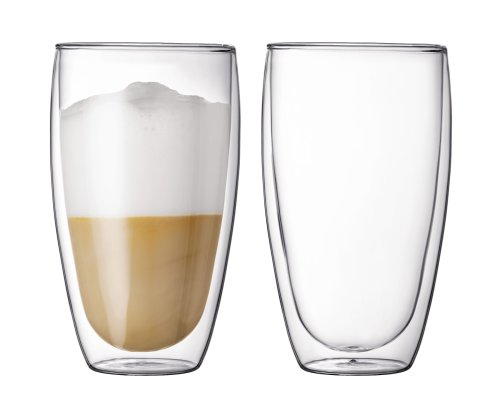 Bodum Pavina 15-Ounce Double-Wall Thermo Large Glass