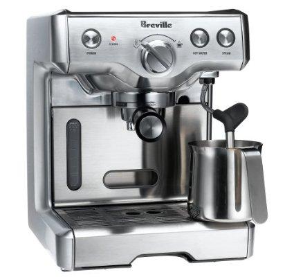 Breville 800ESXL 15-Bar Triple-Priming Die-Cast Espresso Machine
