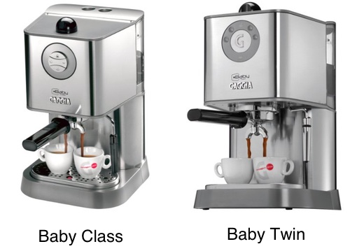 Gaggia Baby Class vs Baby Twin