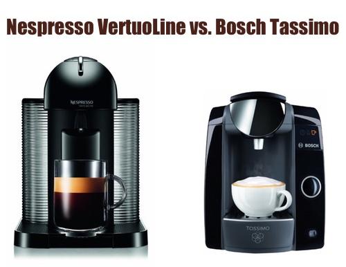 Nespresso Vertuoline vs Bosch Tassimo