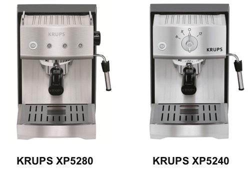 KRUPS XP5240 vs KRUPS XP5280