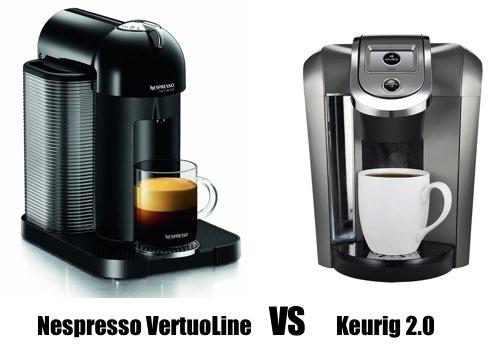Nespresso VertuoLine vs Keurig 2.0