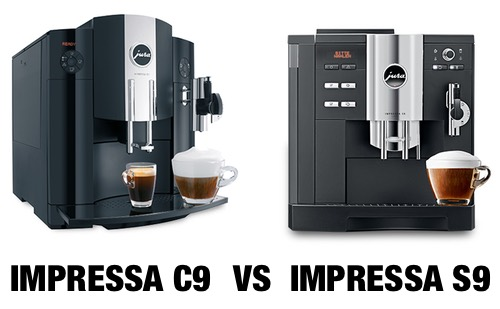 Jura IMPRESSA C9 vs S9