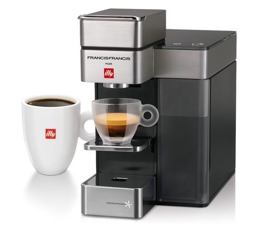 Francis Francis for Illy 60072 Y5 Duo Espresso & Coffee Machine