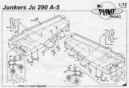 Junkers Ju-290 A-5 Planet Models 073