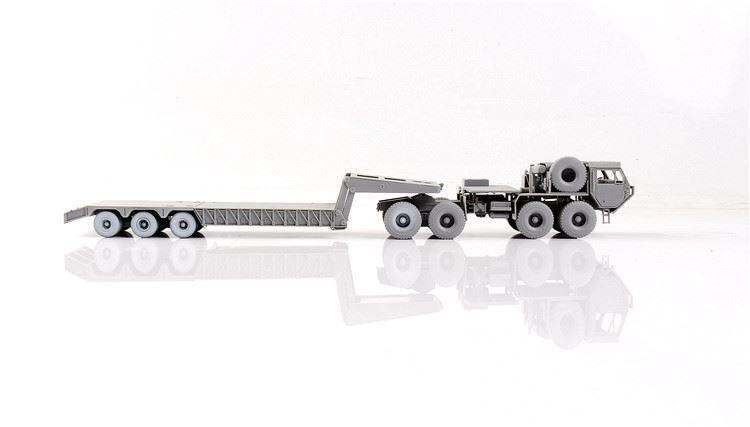 USA M983A2 HEMTT Tractor  M870A1 Semitrailer Model