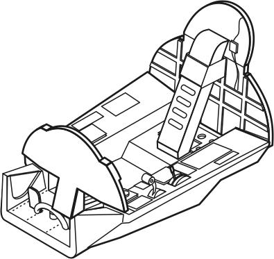 Hawker Hunter interior REV CMK 7123