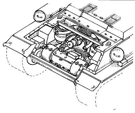 T-34 transmission set ITA CMK 3006