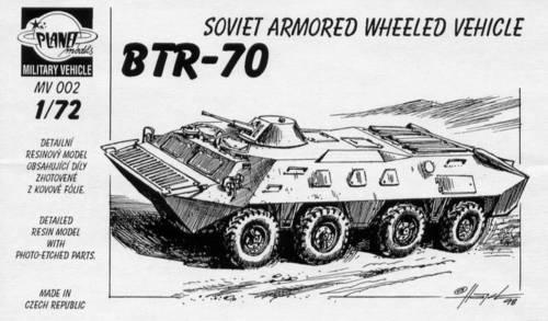 BTR-70 Sov.armored wheeled veh. CMK MV002