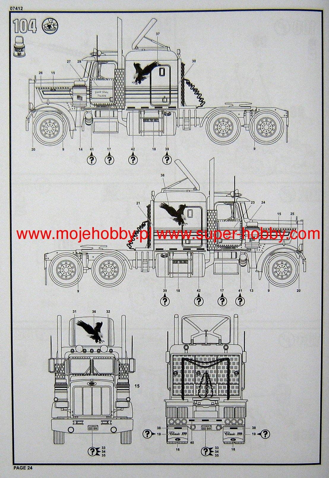 hight resolution of pin 1982 peterbilt 359 wiring diagram on pinterest 2003 387 peterbilt truck wiring schematics at 1984