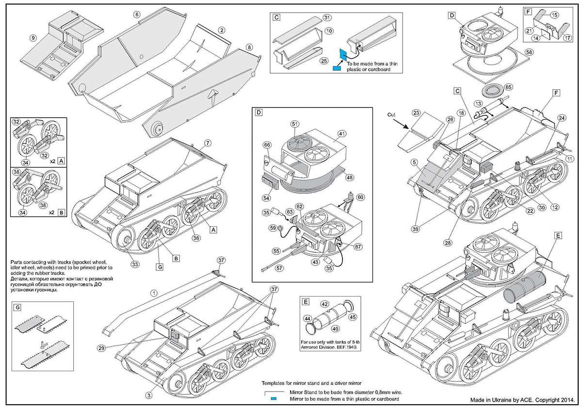 British Light Tank Mark Vic Ace