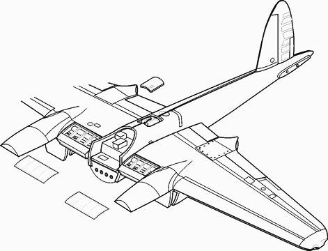 Mosquito Mk.IV/VI exterior TAM CMK 4106