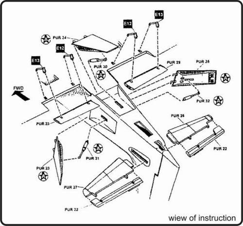 A-1H Skyraider exterior HAS CMK 7049