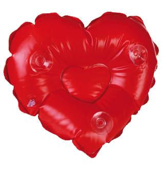 Coeur Gonflable Coussin De Bain Cadeau Saint Valentin
