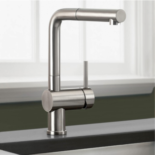 moen pull down kitchen faucet natural maple cabinets photos best sleek and contemporary faucets for a truly modern ...