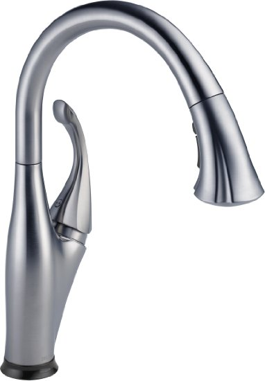 Captivating Delta Faucet 9192T AR DST Addison Single Handle Pull Down Kitchen Faucet  With