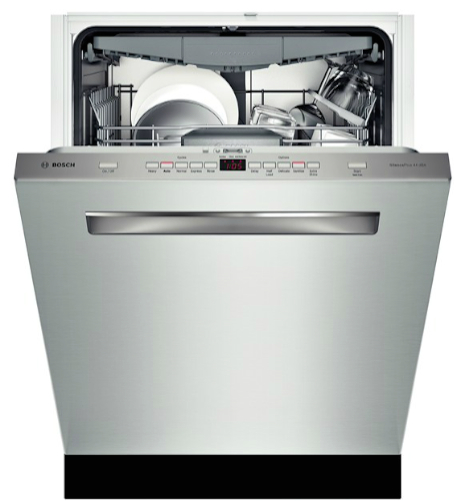 "Bosch SHP65T55UC 500 24"" Stainless Steel Fully Integrated Dishwasher_Inside"