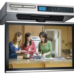 Small Kitchen Tv Tall Bags Looking For The Best A Venturer Under Cabinet Is What You Need