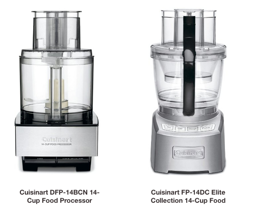 Cuisinart FP-14DC vs DFP-14BCN