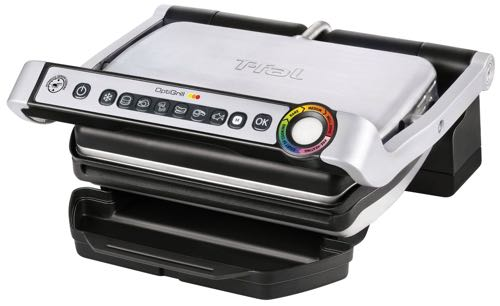 T-fal GC702D OptiGrill Stainless Steel Indoor Electric Grill