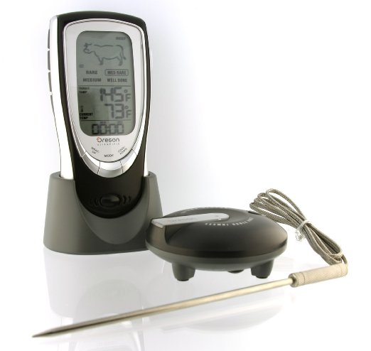 Oregon Scientific AW131 Talking Wireless BBQ_Oven Thermometer