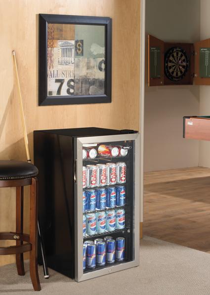 Danby Beverage Cooler_Use