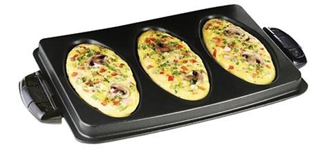 George Foreman Omelet Plates for the G5 George Foreman Grill